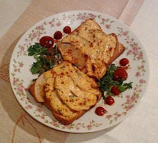Горячие тосты с грушей | Рецепты с фото