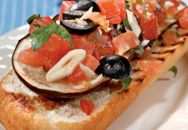 Греческие тосты | Рецепты с фото