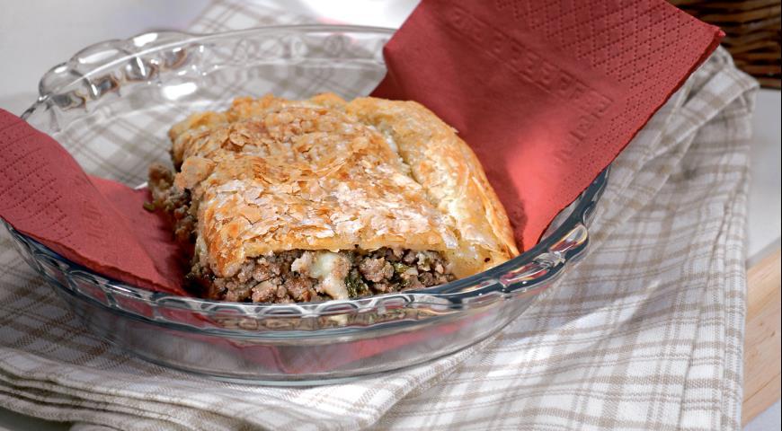 Греческий пирог с мясом | Рецепты с фото