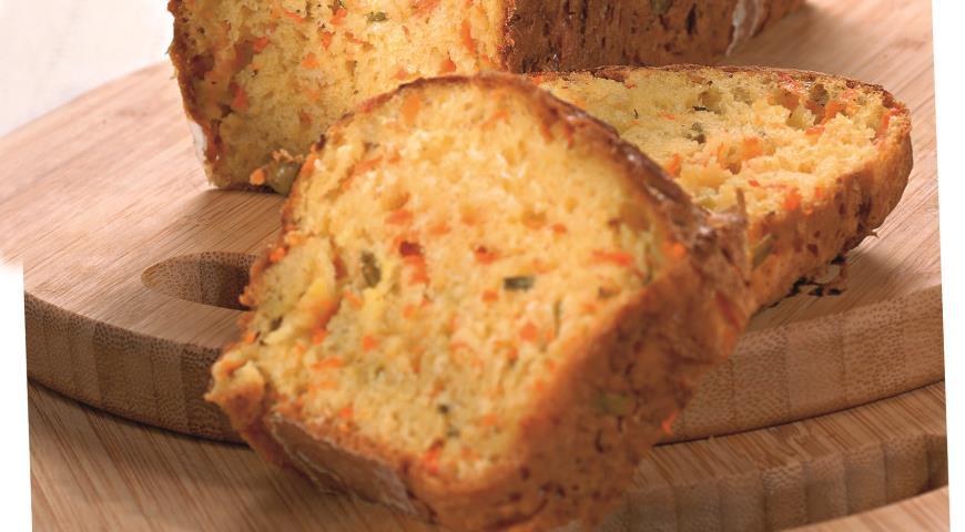 Хлеб с тыквой и зеленым луком | Рецепты с фото