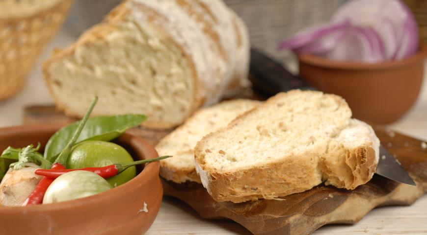 Хлеб с ветчиной и сыром | Рецепты с фото