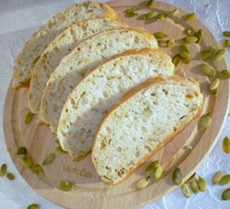 Хлебушек с овсяными хлопьями и семенами тыквы | Рецепты с фото