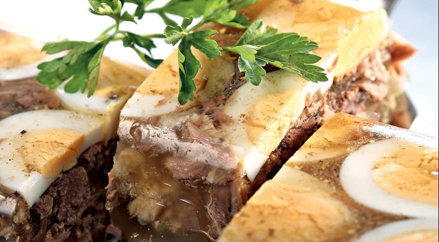 Холодец из бычьего хвоста | Рецепты с фото