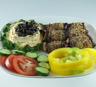 Хумус с баклажанами | Рецепты с фото