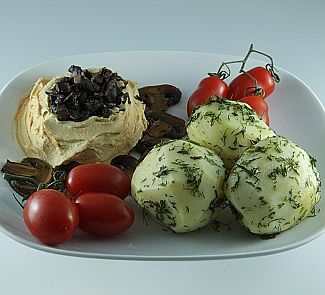 Хумус с грибами | Рецепты с фото