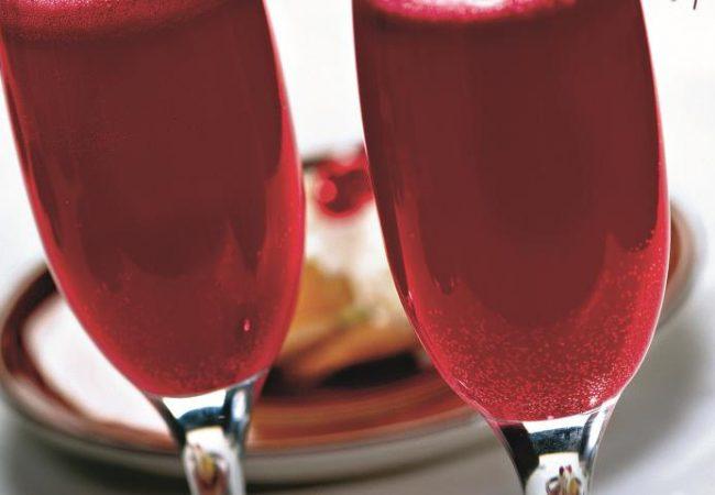 Игристый фруктовый коктейль | Рецепты с фото