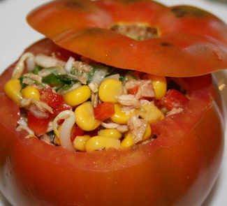 Испанский салат с тунцом | Рецепты с фото