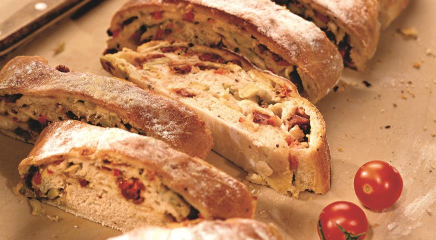 Итальянский батон с моццареллой | Рецепты с фото