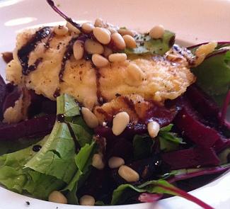 Изысканный салат с биточком из Шавру | Рецепты с фото