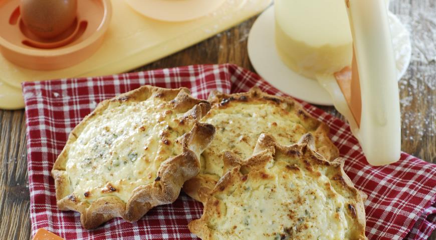Калицуния, пирожки с творогом на оливковом масле | Рецепты с фото