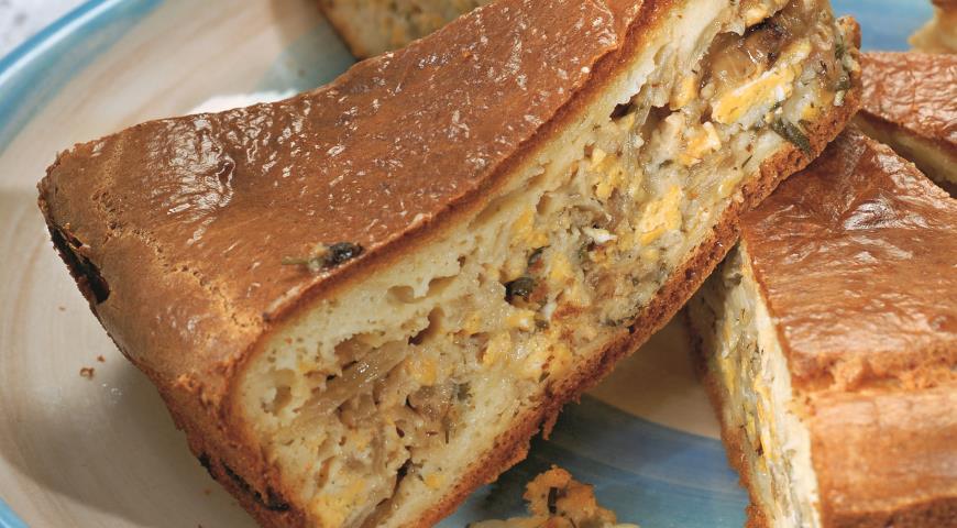 Капустный пирог с карри | Рецепты с фото