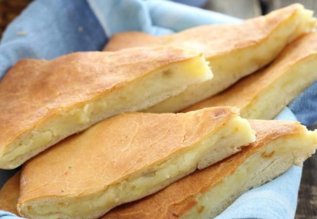 Картофджын, осетинский пирог с картофелем | Рецепты с фото