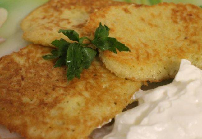 Картофельные деруны | Рецепты с фото