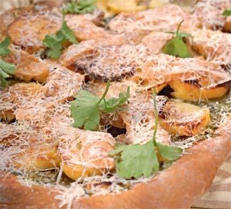 Картофельный пирог со шпинатом | Рецепты с фото