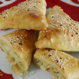 Картошкали сомса из слоеного теста | Рецепты с фото