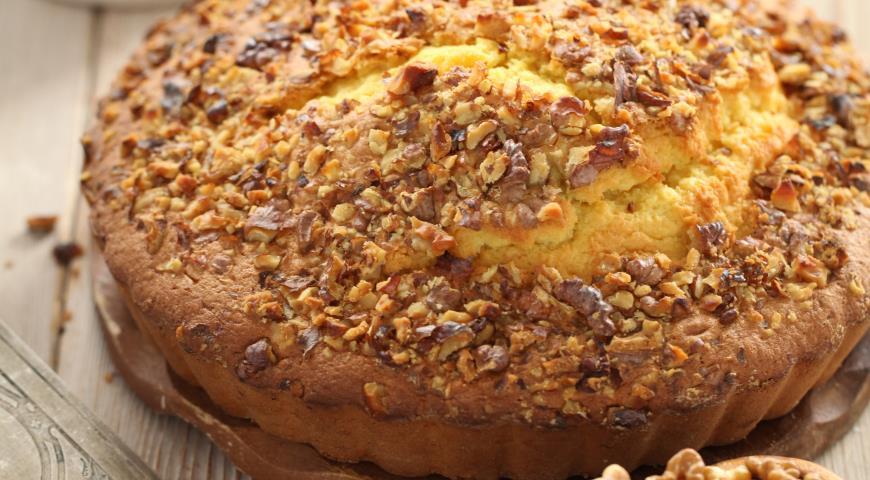 Кавказский ореховый пирог | Рецепты с фото
