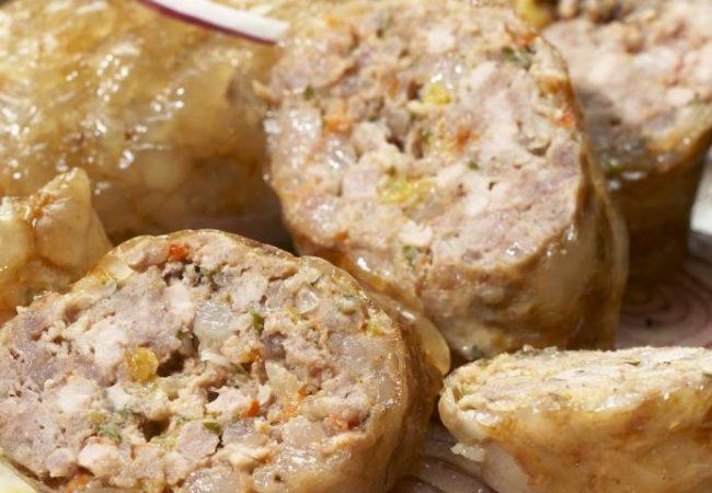 Кебаб из телятины в сальнике | Рецепты с фото