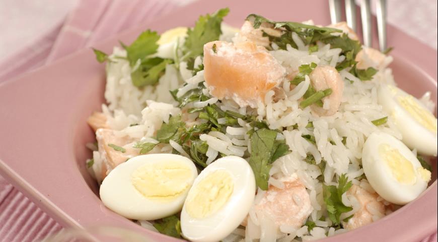 Кеджери с лососем | Рецепты с фото