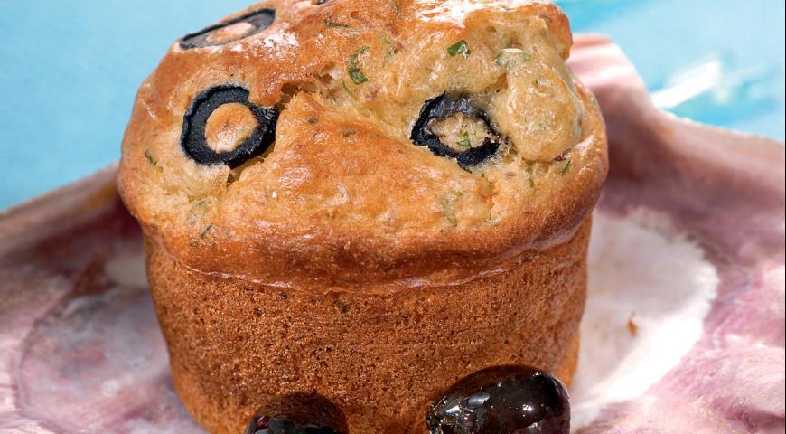 Кекс с тунцом | Рецепты с фото