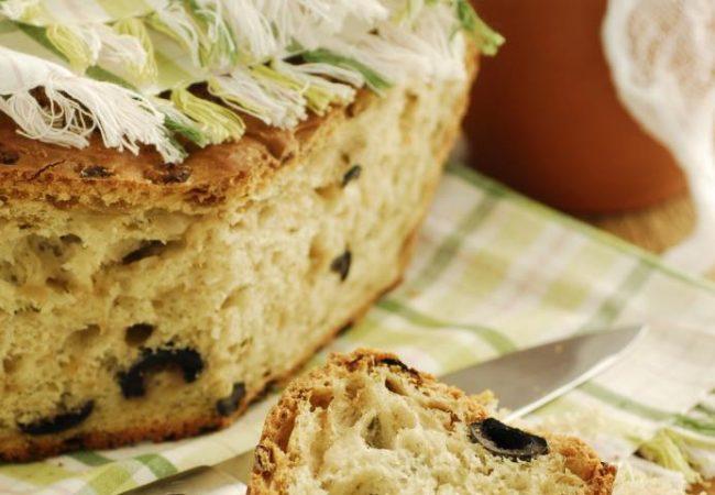Кипрский оливковый хлеб | Рецепты с фото