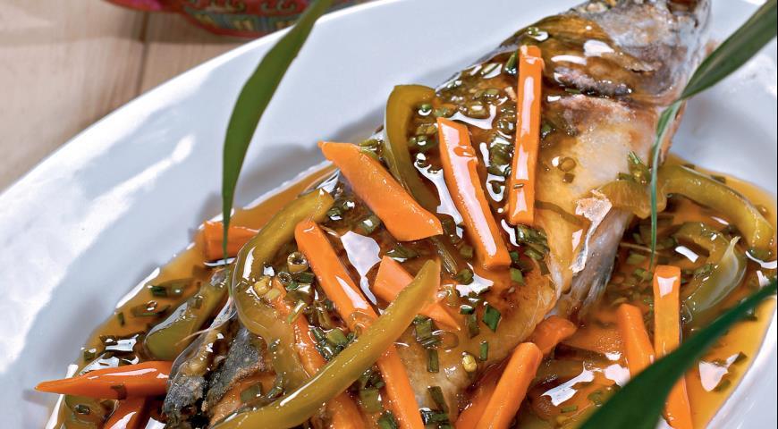 Кисло-сладкая рыба | Рецепты с фото
