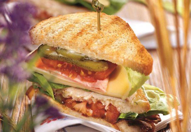 Клубный сэндвич | Рецепты с фото