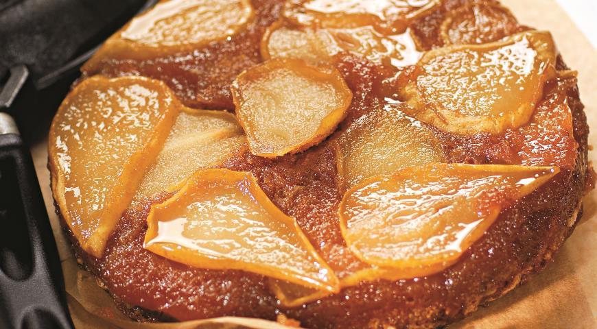Кофейно-грушевый пирог | Рецепты с фото