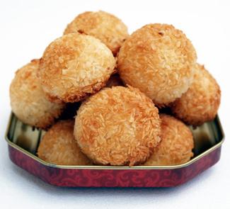 Кокосовое печенье | Рецепты с фото