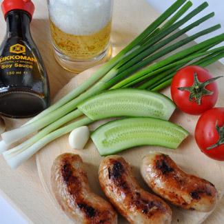 Колбаски пикантные для пикника | Рецепты с фото