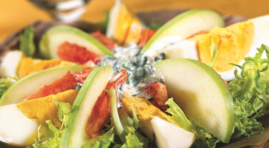 Крабовый салат | Рецепты с фото