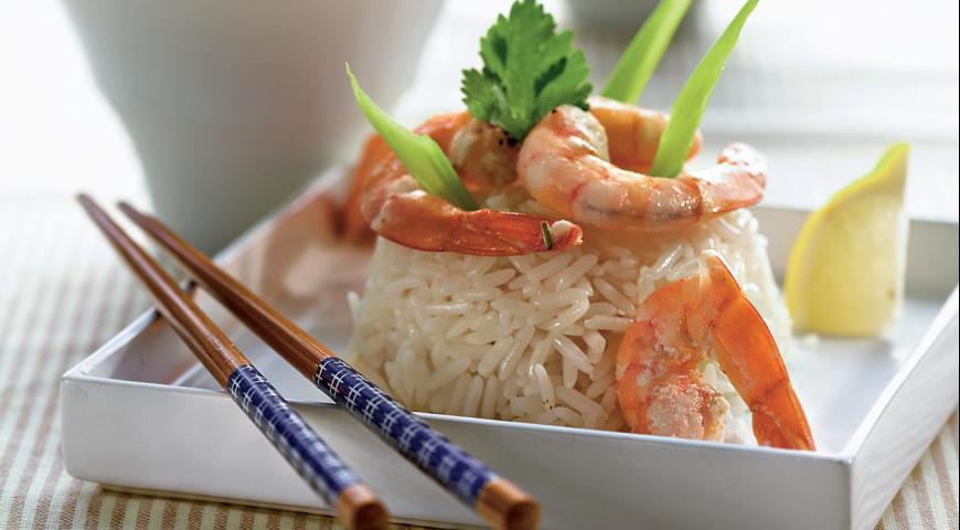 Креветки на пару с жасминовым соусом | Рецепты с фото