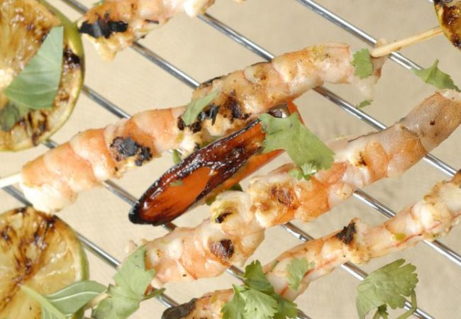 Креветки в лаймово-медовом маринаде | Рецепты с фото