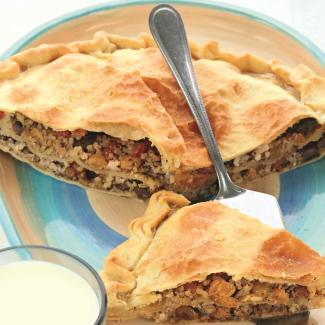 Критский пирог срисом | Рецепты с фото