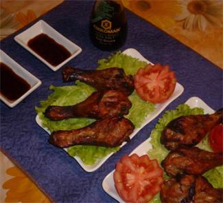 Куриные голени в специях на гриле | Рецепты с фото