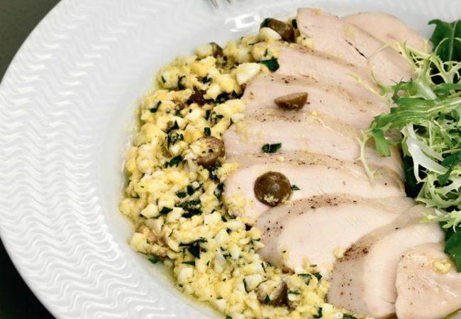 Куриные грудки с польским соусом | Рецепты с фото