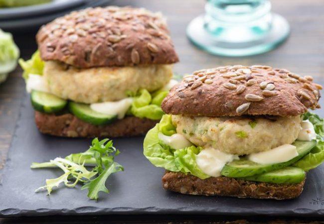 Куриный бургер | Рецепты с фото
