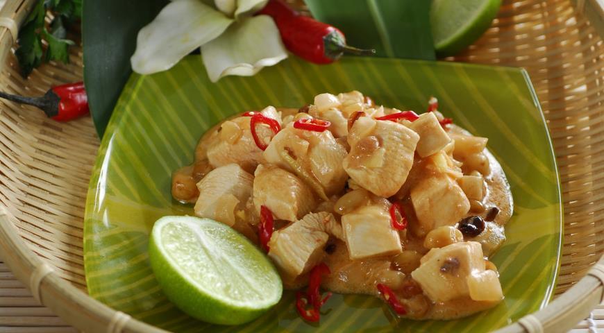 Курица по-индонезийски | Рецепты с фото