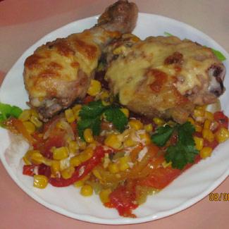 Курица по-мексикански   Рецепты с фото