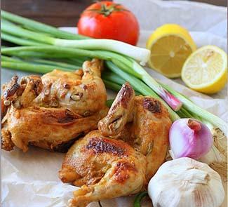 Курица в йогуртовом маринаде с прияностями по-арабски | Рецепты с фото