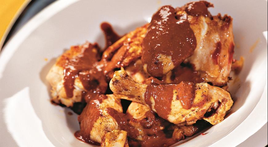 Курица в шоколаде | Рецепты с фото