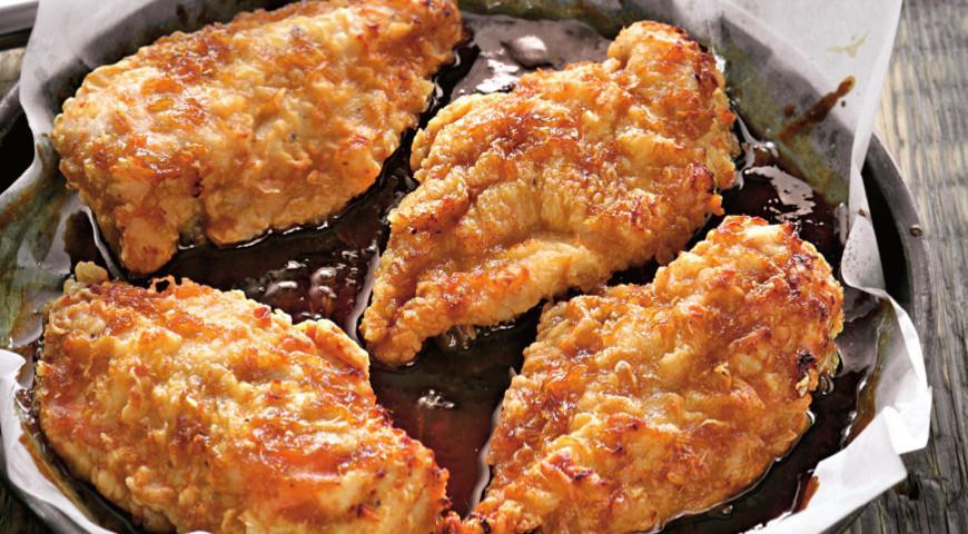 Курица, запеченная с соусом терияки | Рецепты с фото