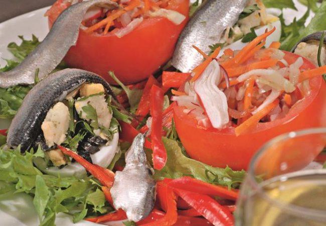 Летний салат по-испански | Рецепты с фото