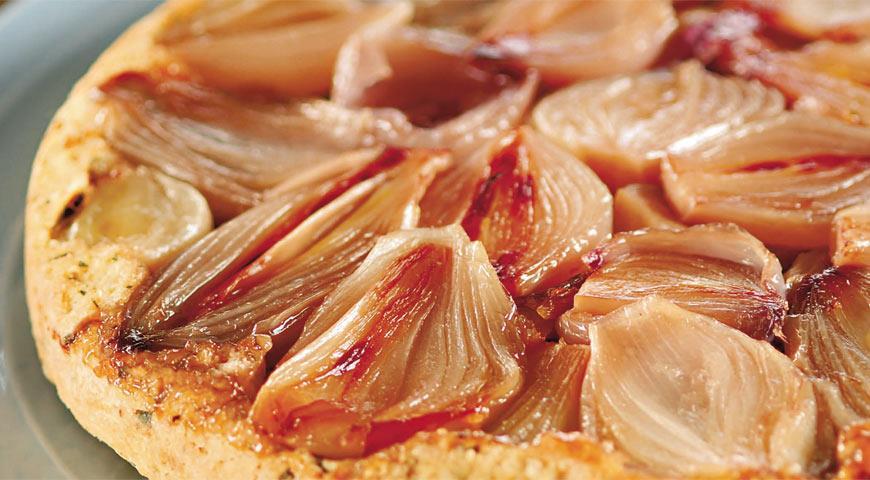 Луковый пирог a la Татен | Рецепты с фото