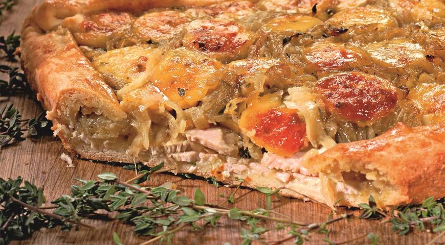 Луковый пирог с сыром | Рецепты с фото