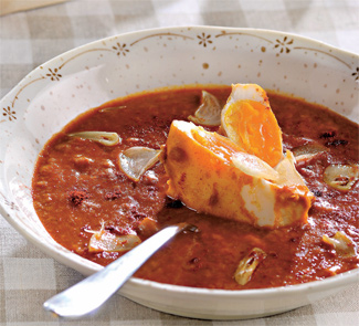 Мадридский чесночный суп | Рецепты с фото