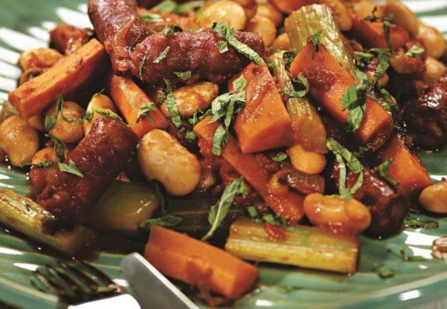 Марокканское рагу с колбасками | Рецепты с фото