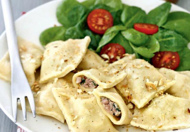 Маульташен, фаршированная паста | Рецепты с фото
