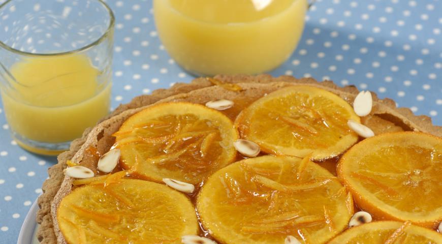 Мазурек с апельсинами, польский пасхальный пирог   Рецепты с фото
