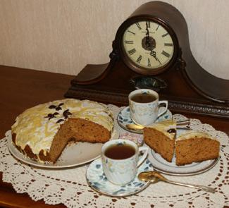 Медовый кекс со специями | Рецепты с фото