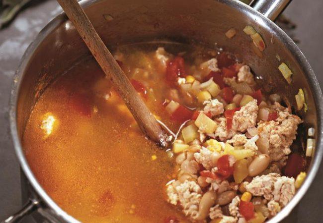 Мексиканский суп из индейки | Рецепты с фото